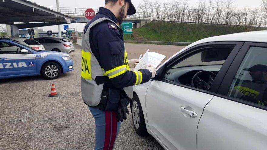 autocertificazione controlli polizia di stato